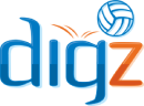 Digz Volleyball Logo